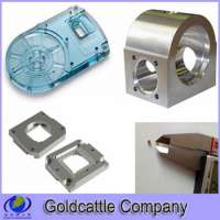cnc milled and milling small plastic parts components