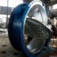Large diameter ddouble flanged butterfly valve Manufacturer