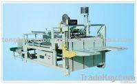 semiauto gluing machine corrugated box making machine