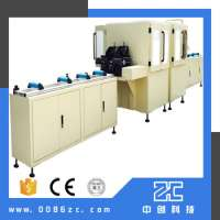 Aluminum alloy automatic deburring machine