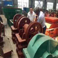 stone jaw crusher machine road construction equipment