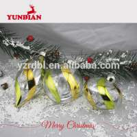 hand painted christmas glass decoration ball Manufacturer