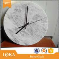 Digital Marble Stone Small Wall Clock Home Decoration Manufacturer