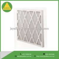Prefilter Pleated air panel filter industrial filtration Manufacturer