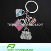 Bag charms fashional metal key holders Manufacturer