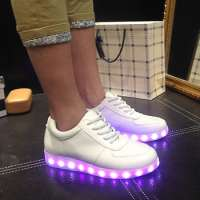 unisex Led light sport shoes glow sneakers running shoes Manufacturer
