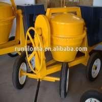 diesel cement concrete mixer machine