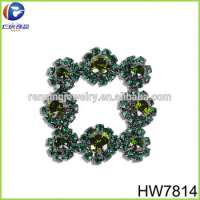 rhinestone metal buckle shoe accessories Manufacturer