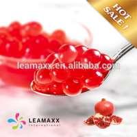 Pomegranate Juice Ball Popping Boba Bubble Tea Supplies