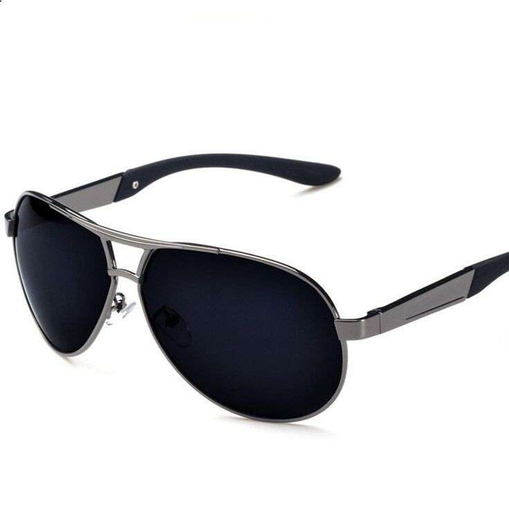 48dff231ad3 custom polarized metal sunglasses for men