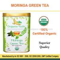 Natural Moringa Green Tea Manufacturer