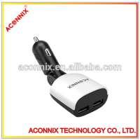 dual usb port car charger phones Manufacturer