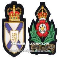 Bullion Woven Badges and Patches