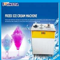 strawberry fried ice cream Yogurt ice cream makers Mango machine icecream