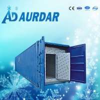 cold storage container to store frozen meatpu panel cold room