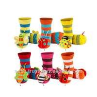SOXO Infant Rattle Premium Socks antiskidding sole Manufacturer