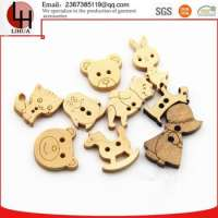 animals shape wooden button shirt Manufacturer
