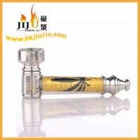 JL-002 Yiwu Jiju Cheap Metal Smoking Pipes For Tobacco Manufacturer