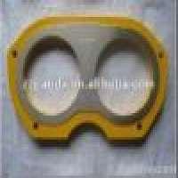 Niigata Concrete pump parts carbide wear plate Manufacturer