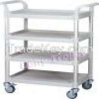 4 Shelf service cartUtility carts Hotel cart Mehrzweckwagen Material Transportwagen Manufacturer