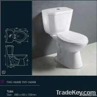 THC1630B Two Pieces Ceramic Toilet Manufacturer
