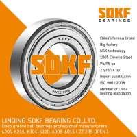 SDKF 6206-2RS-ZZ Metal Shielded Seal Deep Groove Ball Bearing 30x62x16mm   Manufacturer