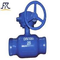 Handle Fully welded ball valve  Manufacturer
