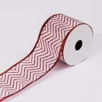 Burlap Christmas Ribbons