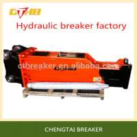 Road Construction Equipment Silenced Hydraulic Breaker Manufacturer