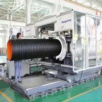 Double Wall Corrugated Pipe High Speed Production Line Manufacturer