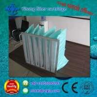 Air conditioning fiber bag filter pleated air filter Manufacturer