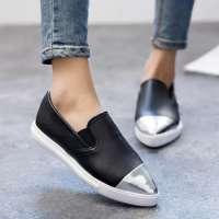 Fashion flat loafers women footwear Manufacturer