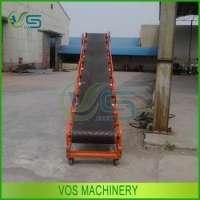 Movable portable belt conveyors organic fertilizer production line Manufacturer