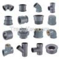 Grey pvc pipe fittings water  Manufacturer