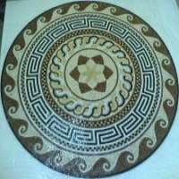 MEDALLION MARBLE MOSAIC TILE MURAL DECORATIVE ART Manufacturer