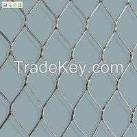 zoo netting zoo mesh small steel rope wire netmesh  Manufacturer