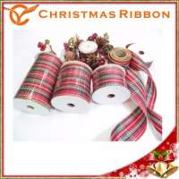 Christmas Lace Magnetic Ribbon Bow