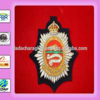 pocket blazer Crest Badge