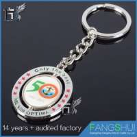 design customized shopping cart coin key chain Manufacturer