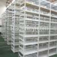 ISO9001 CE certificate slotted angle shelving light duty shelving Manufacturer