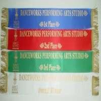 Customized plain silk Graduation Sashes Manufacturer
