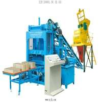 road construction equipment automatic brick machine