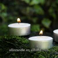 candle tin flameless tea lightsdecorative diyas tealight candle Manufacturer