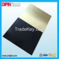 Gold and silver double color plastic sheet Manufacturer
