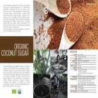 Organic coconut sugar Manufacturer