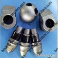 conical teethauger bits carbide round shank bit B47K Manufacturer