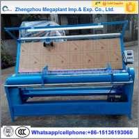 automatic fabric cloth rolling machine