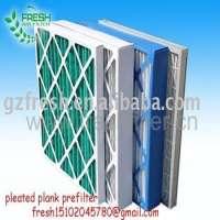 G4 pleat panel filter