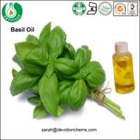 Essential Oil Amber Bottle Basil Oil
