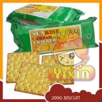 SUNRISE Green Color Packed Cream Cracker Manufacturer